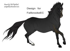 FallBrookeEC Design Comp :) by WB-Equine-Art