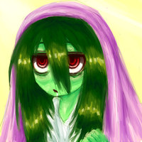 Monster Girl Challenge Day 12: Zombie by Alyossan