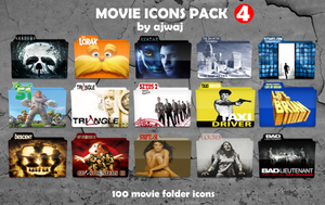 Movie Folder Icons Pack 4 by AJWAJ