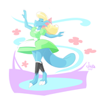 gracefully dancing by JAMEArts