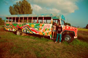 Bus Of Love I by IsabellaBraineater