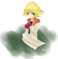 Harvest Moon- Will by BorderlineCloud