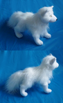 Arctic fox plush: finished by goiku