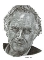 Richard Dawkins by Bungle0