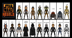 Star Wars Rebels Seanson 1 ( 2014-2015 ) Tv Show ) by the-collector-13