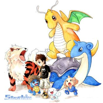 Pokemon Team by kinly