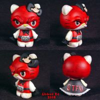 Hello Evil Kitty STFU Special by Undead-Art