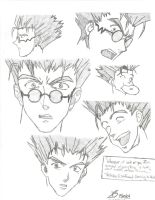 The Many Faces of Vash by Hum4n01dTyph00n