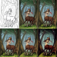 Hunting [Step by step] by Wernope