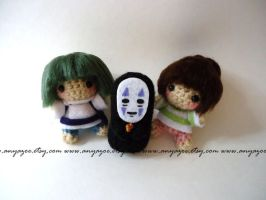 Spirited Away Amigurumi by AnyaZoe