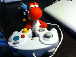 Yoshi's game by Ritika-of-fire