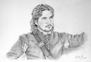 Christian Bale as John Rolfe (The New World) by Skylark6277