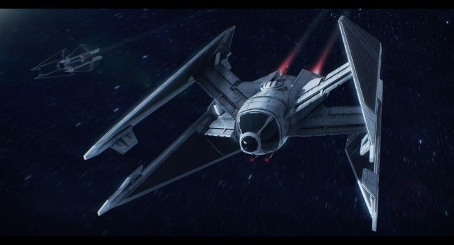 Star Wars Sienar Fleet Systems Swift TIE by AdamKop