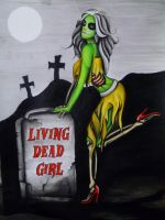 living dead girl by bishop808