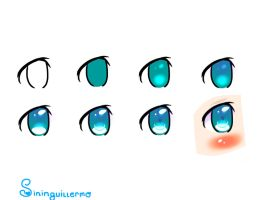 Eye Tutorial by crystalwaterlover08
