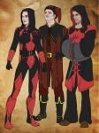 Three Assassins by CVDart1990