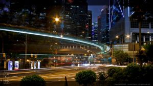 Central Traffic - Hong Kong by TheForestMan
