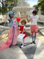 MIKU HATSUNE - DARKS WOODS CIRCUS by Omegaloids