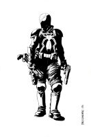 Agent venom inked in MS by Paul-Moore