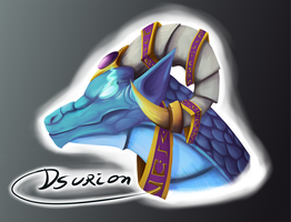 Tarecgosa of the Blue Dragonflight by Dsurion