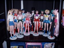 Sailor Moon Dolls by KittyChanBB