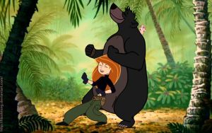 Kim and the Bare Necessities by FitzOblong