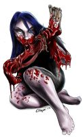 Zombie Girl by Reklaw280