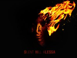 silent hill fire poster by Mick81