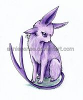 Espeon by SunlessRise