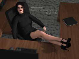 Digital Beauty Series - The Secretary by Digital-Beauty-Serie