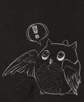 Sketchbook Owl by chastened