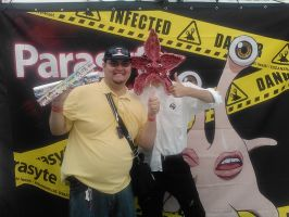 Me and the Parasyte Creature! by Namco-NintendoFan-88