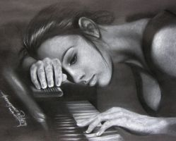 The piano and her by hieronymus83