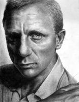 Daniel Craig by Mad-Margaret
