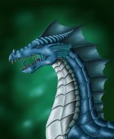 Blue Drake by Seraphi91