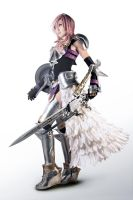 Final Fantasy XIII-2 Lightning Farron Cosplay by Fantalusy