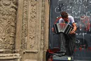 Bandoneon with passion by ldeseta