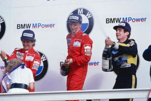 1985 Dutch Grand Prix Podium by F1-history