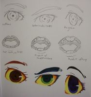 Hetastuck: Eye and Mouth Practice by StephODell