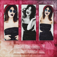 Png Pack 522 - Lali Esposito by BestPhotopacksEverr