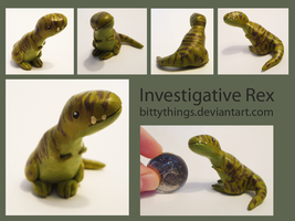 Investigative Rex - SOLD by Bittythings