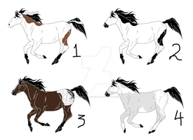 Free horse adopts by Flyingfetlocks