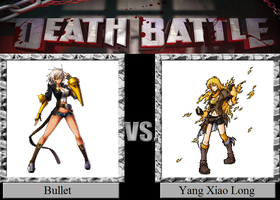 Bullet vs. Yang Xiao Long by JasonPictures
