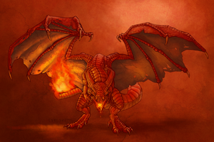 Charizard by ChewbaccaBigSis