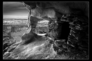 Ancient Anasazi Granary by narmansk8