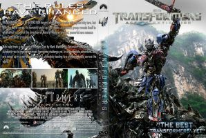 Transformers Age Of Extinction DVD Cover by superjabba425