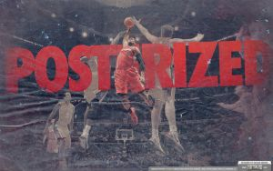 DeAndre Jordan Posterization Wallpaper by IshaanMishra