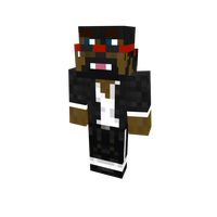 Minecraft skin: CaptainSparklez as a Bacca by sonickirbyfanno7np10