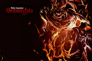 A Demon's Fate Comic Wallpaper by wtfan