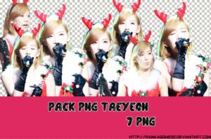 [24122013] PACK PNG TAEYEON MERRY X-MAS by rankagome52